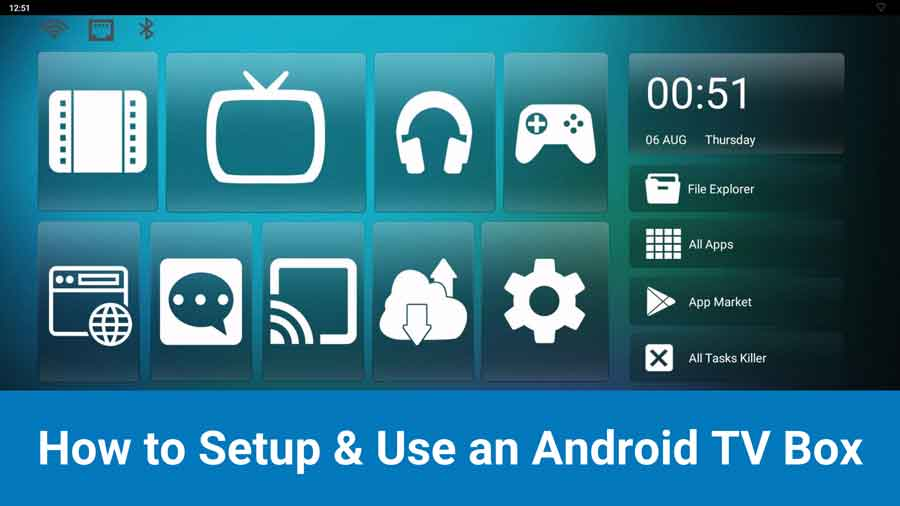 How to Set Up and Use an Android TV box