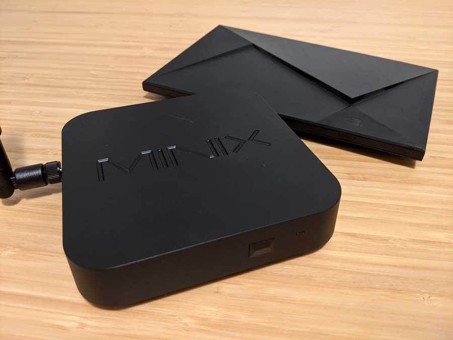 MINIX NEO U22-XJ vs NVIDIA Shield TV