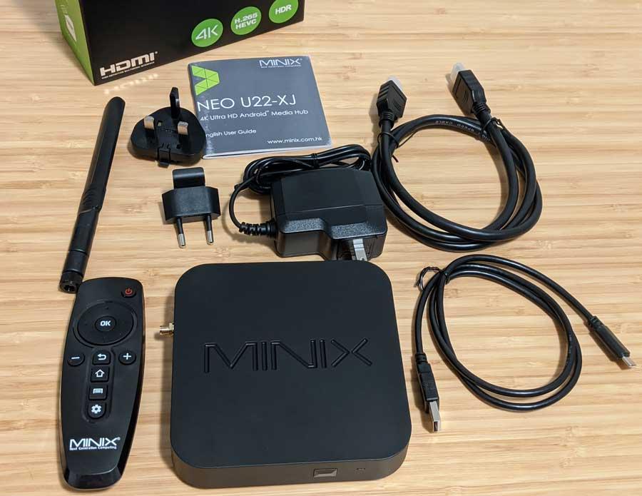 MINIX NEO U22-XJ unboxing