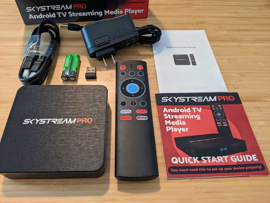 Unboxing the SkyStream Pro
