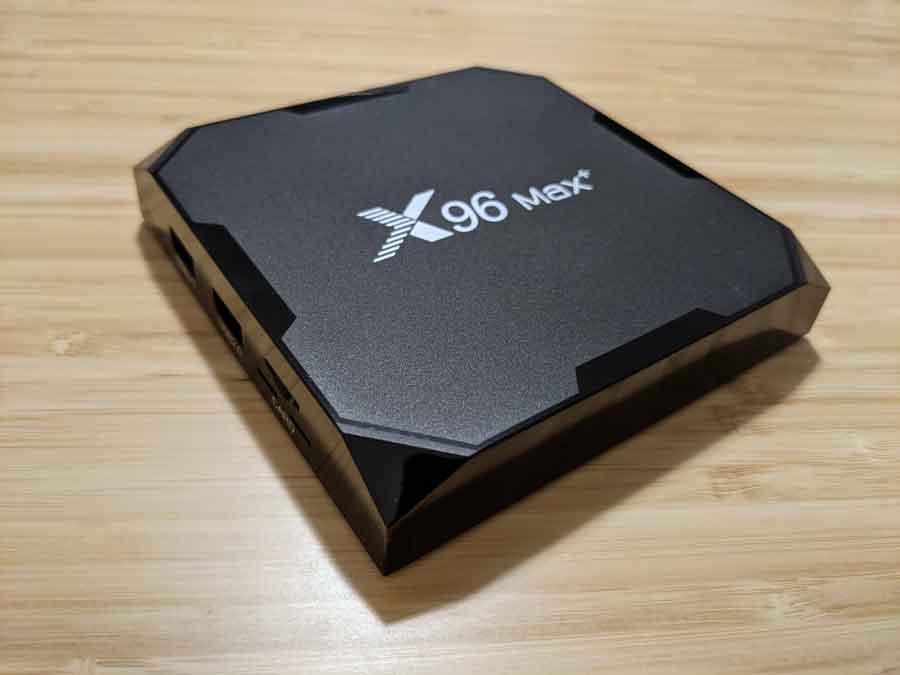 The Supvin X96 Max+ Android TV box