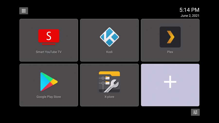 Simple TV Launcher for Android TV