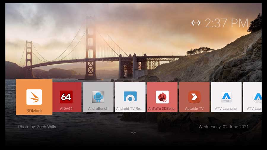 SimpleBox Android TV launcher