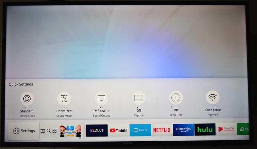 Samsung Tizen TV OS