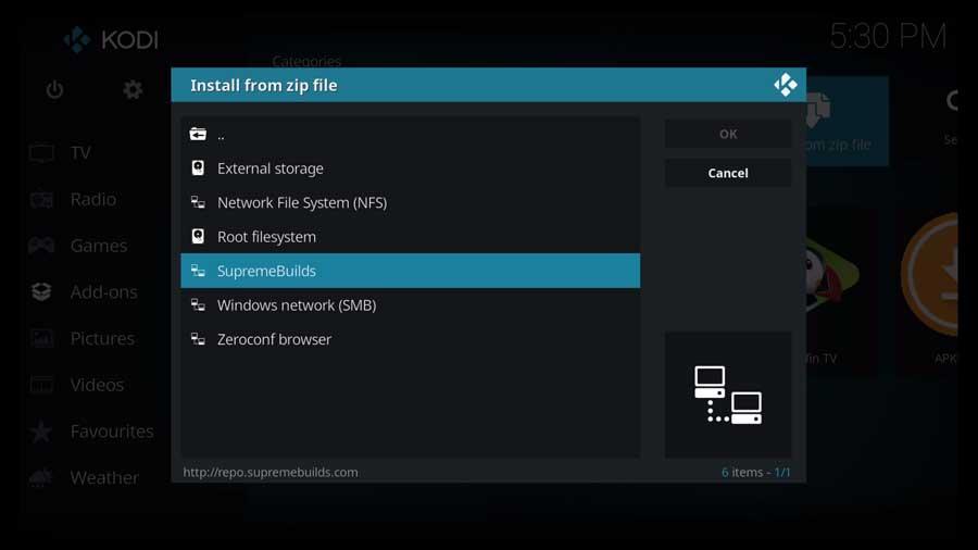 Select Supreme Builds file source