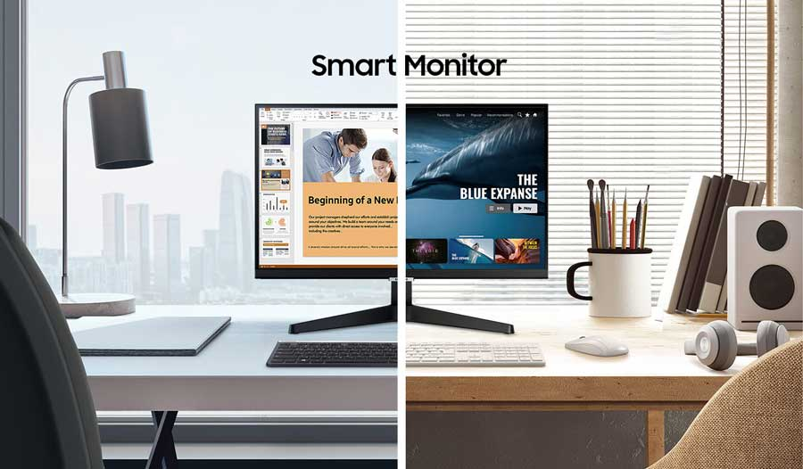 Samsung 24 inch LS24AM506NNXZA Smart TV\Monitor